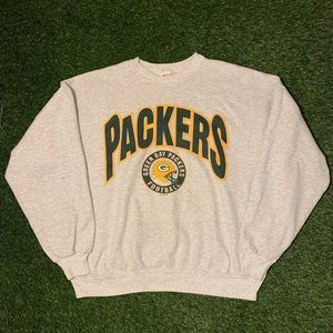 🧀VTG Green Bay Packers 1997 Grey Crewneck